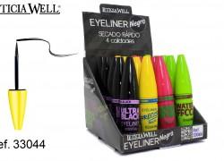 Eye Liner Negro 4 Modelos  Ref. 33044