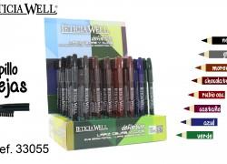 Lápiz de Cejas y Ojos Definition 8 Colores Ref. 33055
