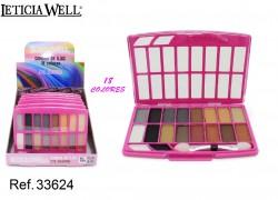 Multicolor Sombra de Ojos 18 Colores Ref. 33624