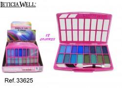 Multicolor Sombra de Ojos 18 Colores Ref. 33625