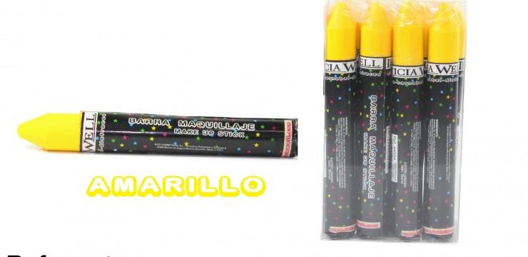 Barra Maquillaje Fiesta AMARILLO Ref. 44504