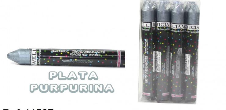 Barra Maquillaje Fiesta PLATA Ref. 44507
