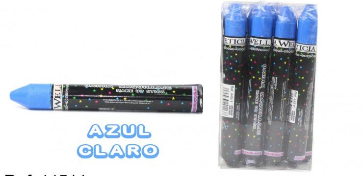 Barra Maquillaje Fiesta AZUL CLARO Ref. 44511