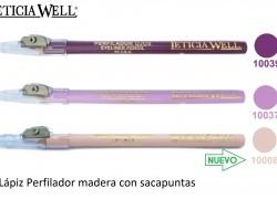 Lápiz Madera Ojos Labios con Sacapuntas Ref. 10039 10037