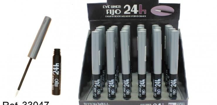 Eye Liner Negro Fijo 24h. Ref. 33047