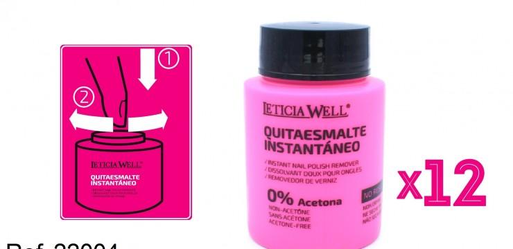 Quitaesmalte Instantaneo 0% Acetona Ref. 22004