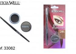 GEL Eye Liner MARRÓN con pincel Ref. 33062