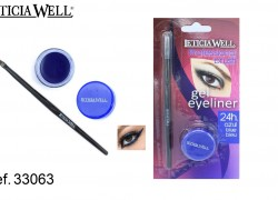 GEL Eye Liner AZUL  con pincel Ref. 33063