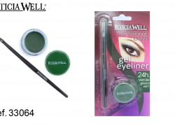 GEL Eye Liner VERDE con pincel Ref. 33064