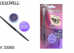 GEL Eye Liner BERENJENA con pincel Ref. 33065