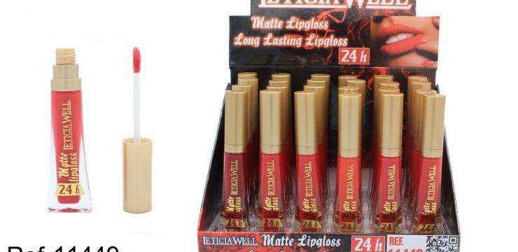 Lip Gloss Oro MATTE 24h. Ref. 11449