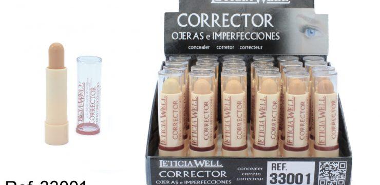 Corrector de Ojeras e Imperfecciones Ref. 33001