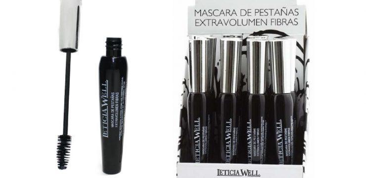 Máscara de Pestañas Negra EXTRA VOLUMEN FIBRAS  Ref. 33014