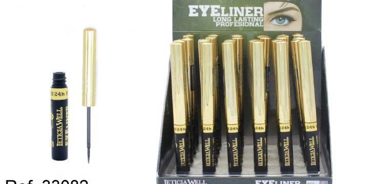 Eye Liner Negro Long Lasting Ref. 33082