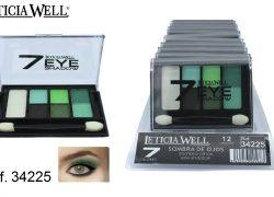 Sombra de Ojos 7 Colores Verde Ref. 34225