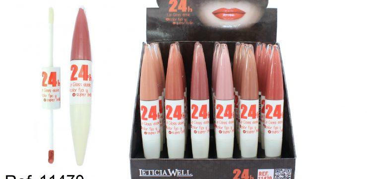 Lip Gloss DOBLE Ref. 11470