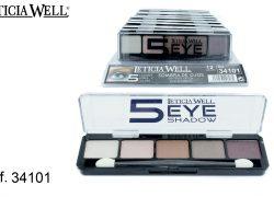 Sombra de Ojos 5 Colores Marrones Ref. 34101