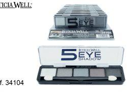 Sombra de Ojos 5 Colores Grises Ref. 34104