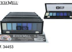 Sombra de Ojos 8 Colores Azules Ref. 34453