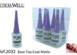 Top Coat Matte 2 en 1  Ref. 2032
