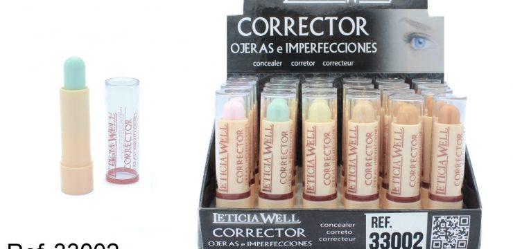 Corrector de Ojeras e Imperfecciones Ref. 33002