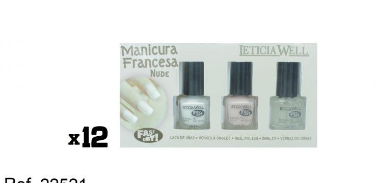 Manicura Francesa NUDE Fast Dry Ref. 22521