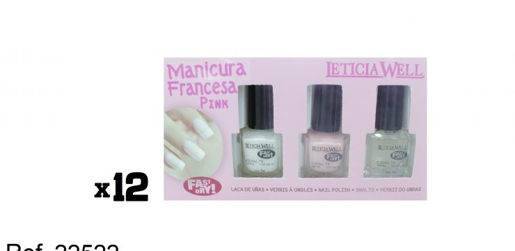 Manicura Francesa PINK Fast Dry Ref. 22522