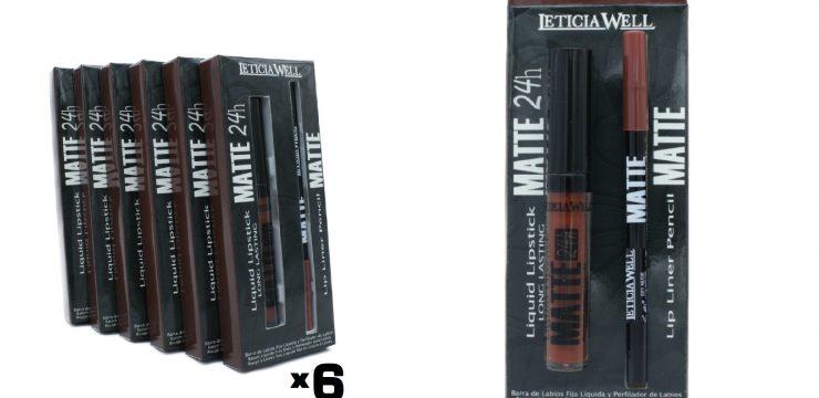 Pack Lip Gloss MATTE 24h. + Perfilador Labios MATTE Ref. 11501