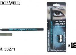 Lápiz Ojos Negro Waterproof+sacapuntas Ref. 33271