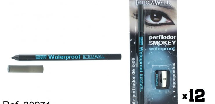 Lápiz Ojos Negro SMOKEY Waterproof con sacapuntas Ref. 33271