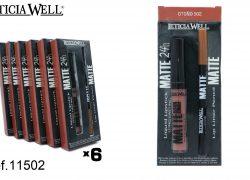 Pack Lip Gloss MATTE 24h. + Perfilador Labios MATTE Ref. 11502