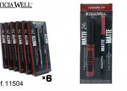 Pack Lip Gloss MATTE 24h. + Perfilador Labios MATTE Ref. 11504