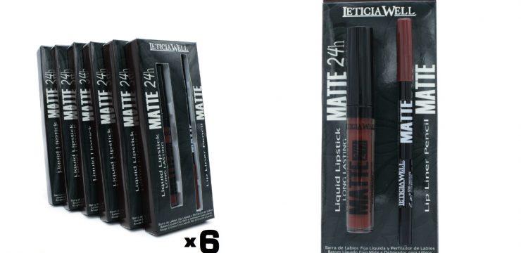 Pack Lip Gloss MATTE 24h. + Perfilador Labios MATTE Ref. 11508