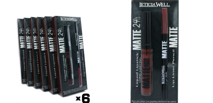 Pack Lip Gloss MATTE 24h. + Perfilador Labios MATTE Ref. 11509