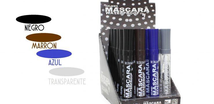 Máscara Pestañas Waterproof 4 colores Ref. 33029