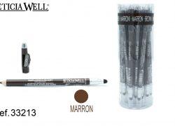 Lápiz Ojos MARRÓN SOFT +aplicador+sacapuntas Ref. 33213