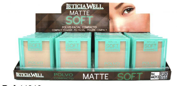 Polvo Facial Compacto MATTE Soft Ref. 44313