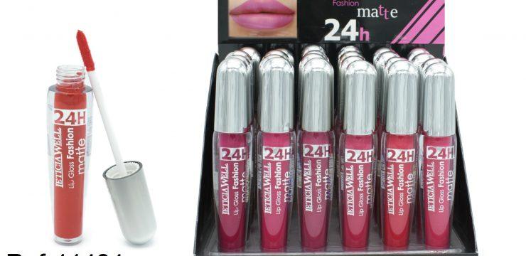 Lip Gloss Fashion Matte 24h Ref. 11484