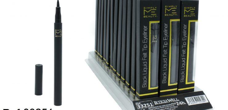 Rotulador Ojos Negro Fijo SIMPLY Ref. 33251