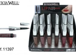 Lip Gloss Fijo + Lip Liner Perfilador Ref. 11397