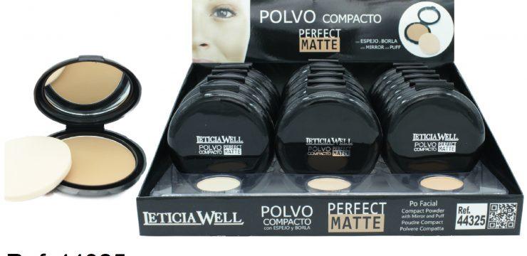 Polvo Compacto PERFECT MATTE Ref. 44325