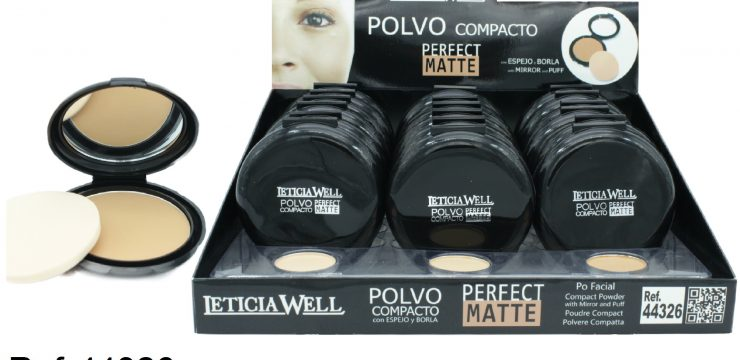 Polvo Compacto PERFECT MATTE Ref. 44326