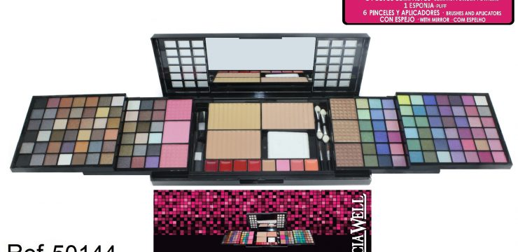 Cofre Maquillaje PROFESIONAL PINK Ref. 50144