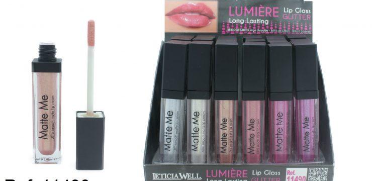 Lip Gloss Glitter LUMIÈRE Ref. 11490