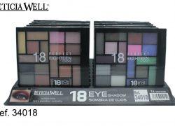 Sombra de Ojos 18 Colores Ref. 34018