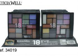 Sombra de Ojos 18 Colores Ref. 34019
