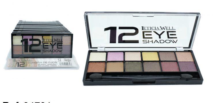 Sombra de Ojos 12 colores Ref. 34791