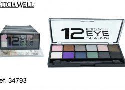 Sombra de Ojos 12 colores Ref. 34793