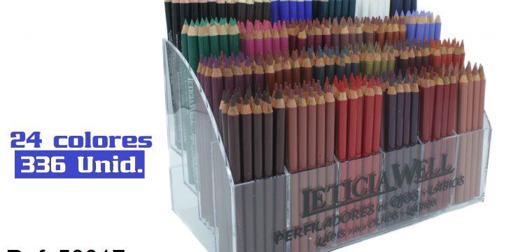 Expositor Lápiz Ojos+Labios Ref. 50017