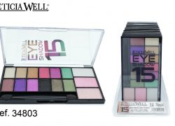 Sombra de Ojos 15 Colores Ref. 34803
